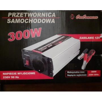 Przetwornica samochodowa 300W 12V/230V Carcommerce