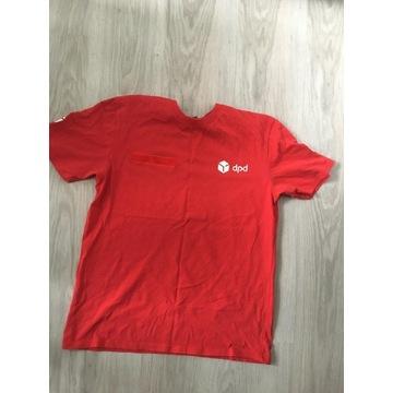 Czerwona koszulka dpd