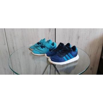 Adidas, Nike 26 Świetne,lekkie, letnie. GratisNIKE