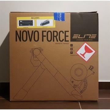 NOWY Trenażer Elite Novo Force 8 Mata Podstawka