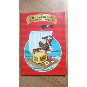 książka Pirackie zmagania z gramatyką i ortografią