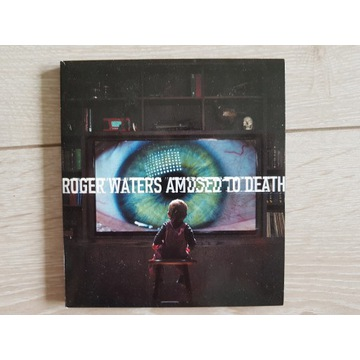 ROGER WATERS AMUSED TO DEATH CD+BLU-RAY AUDIO