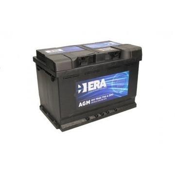 Akumulator 12v 70Ah 720A AGM ERA VARTA