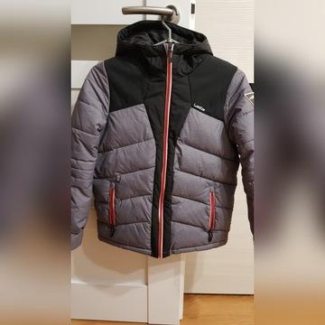 Ciepła zimowa kurtka zakupiona w Decathlon r.140 +