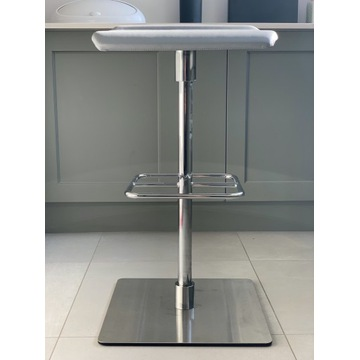 VANK Krzesło Barowe Loit (Silvertex j.szary 4001)