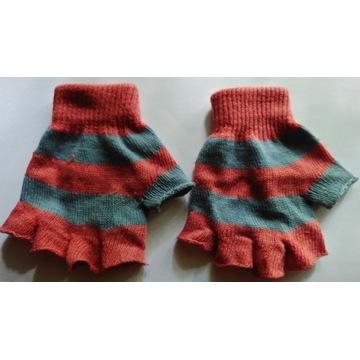 Rękawiczki bez palców kolorowe