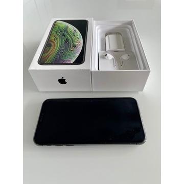 Apple iPhone XS 512 GB grafitowy + skórzane etui