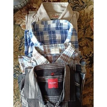 Koszule męskie letnie L/XL 4+ 1 gratis