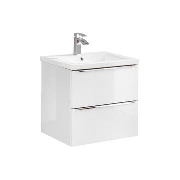 CAPRI WHITE 820 - Szafka p/umywalkę 60 + umywalka!