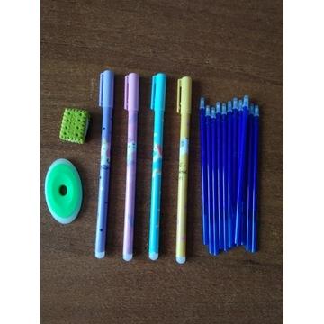 Długopis zmazywalny z gumką UNICORN + ciastko