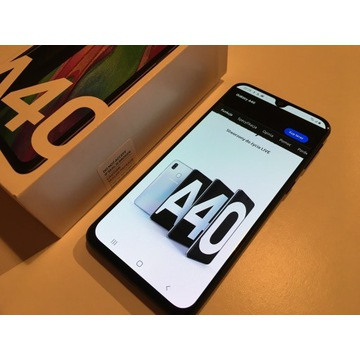 SAMSUNG Galaxy A40 SM-A405FN 100% sprawny bateria