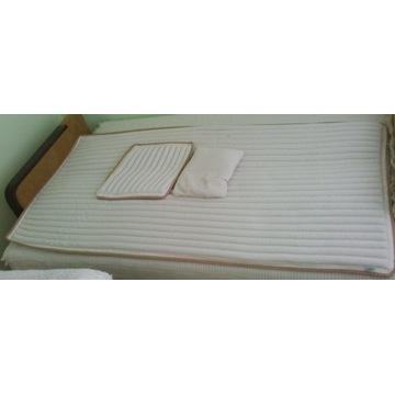 Z gryki - materac i 2 poduszki