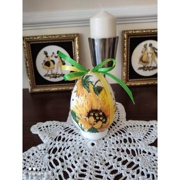 Jajko styropianowe Słonecznik