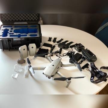 Dron DJI Mavic Pro Platinum FlyMore Combo Case B&W