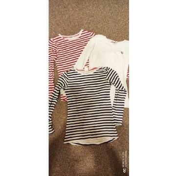 3szt koszulek r.158