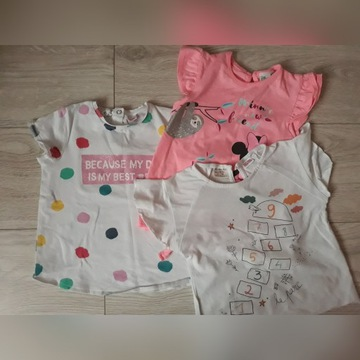 T-shirty 92/98 Zara , Disney