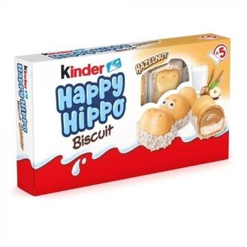 Ferrero KINDER 5szt Happy Hippo Cacao Wafelki