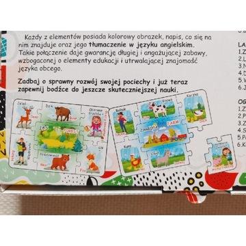 Układanka puzzle polsko-angielskie Wokół Nas