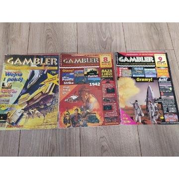 Gambler lata 94-98 różne numery