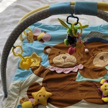Mata do zabawy dla dzieci, opakowanie i zabawki