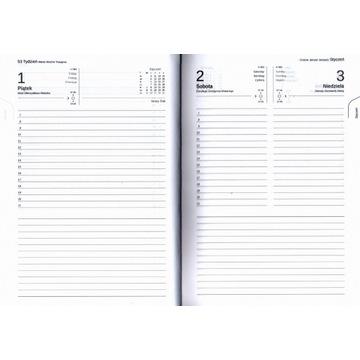 Kalendarz handmade | A5 | dzienny | linie