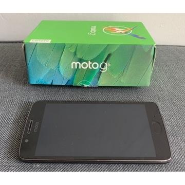 Moto G5 16GB Grey + zestaw