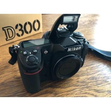 Nikon D300, 23tys zdjęć, grip, PL dystrybucja