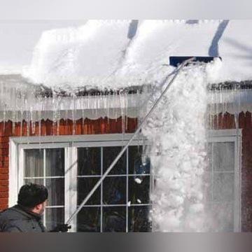 Zgarniacz łopata do usuwania śniegu z dachu 6,4 m