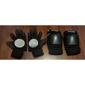 Rękawice slide TSG Worker Gloves na longboard