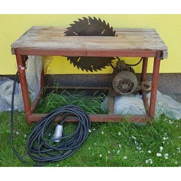 Piła stołowa tarczowa krajzega, silnik 1,5 KW