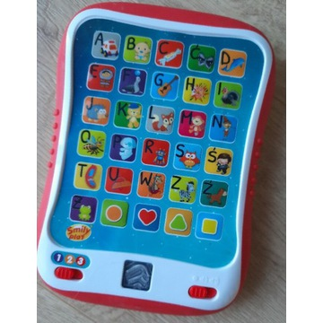 Edukacyjny tablet Smily Play jak nowy