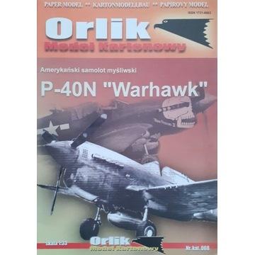 Orlik P 40N. Druk offset. Unikat.