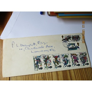 koperta ANGLIA 1966 BATTLE OF HASTINGS 1066