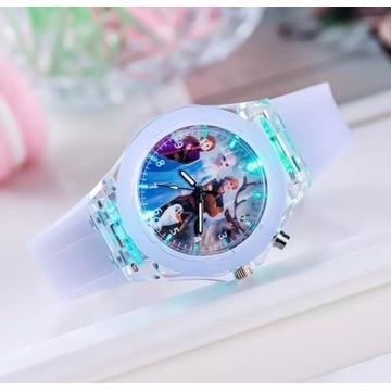 Zegarek dziecięcy dziecko frozen 5 wzorow