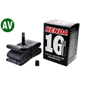 """Dętka Kenda 16"""" AV box"""
