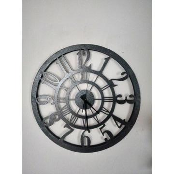 Zegar Metalowy loft 50cm