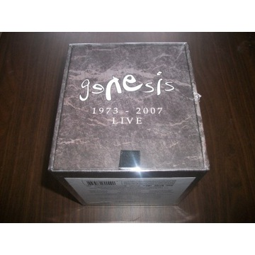 GENESIS - 1973 - 2007 LIVE / BOX / 8CD+3DVD