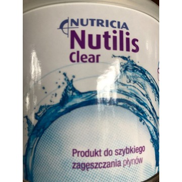 NUTILIS Clear 175g nowy