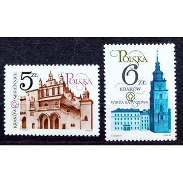 Fi 2741-2742 ** Odnowa zabytków Krakowa 1983