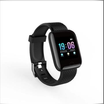 Smartband d13 bluetooth czarny
