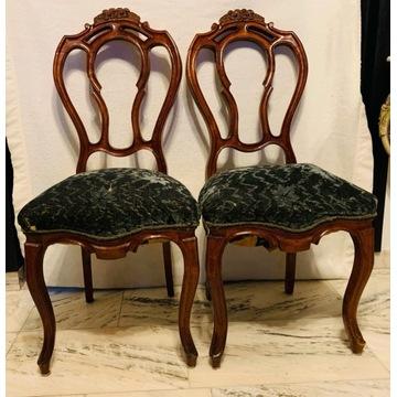 Ludwikowskie krzesła 2 sztuki