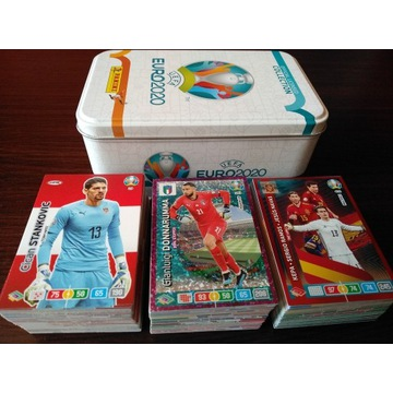 Panini Euro 2020 - 200 kart !!! Puszka gratis