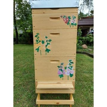 Ul wielkopolski z sosny wejmutki ręcznie malowany