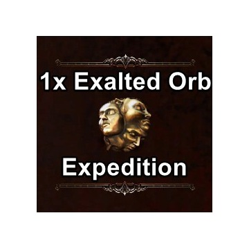 1x Exalted Orb | Expedition | Path of Exile | PoE