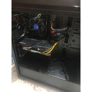 Komputer do gier Intel core i5 Geforce GTX 1660