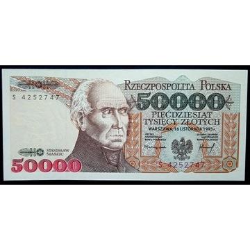 50000 zł - 1993 - S - st.1 UNC