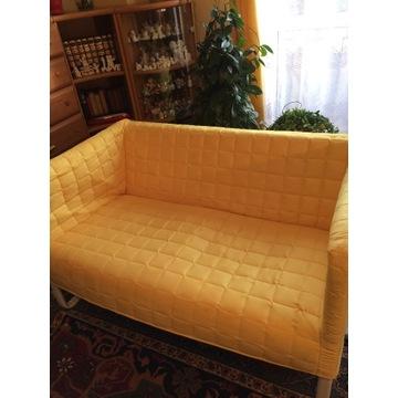 Pokrowiec pokrycie KNOPPARP Sofa ikea żółta +grati