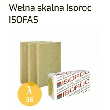 Wełna elewacyjna isorock 0,036 200mm