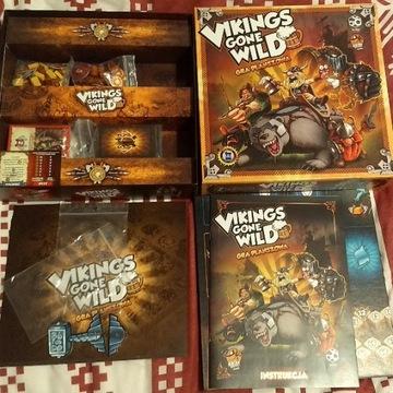 Vikings Gone Wild PL, jak nowa, gra planszowa