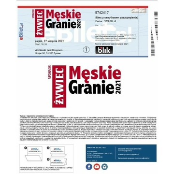 Bilety na koncert Męskie Granie Żywiec